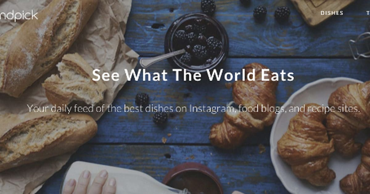Turn instagram food posts into meals with recipe app handpick forumfinder Gallery