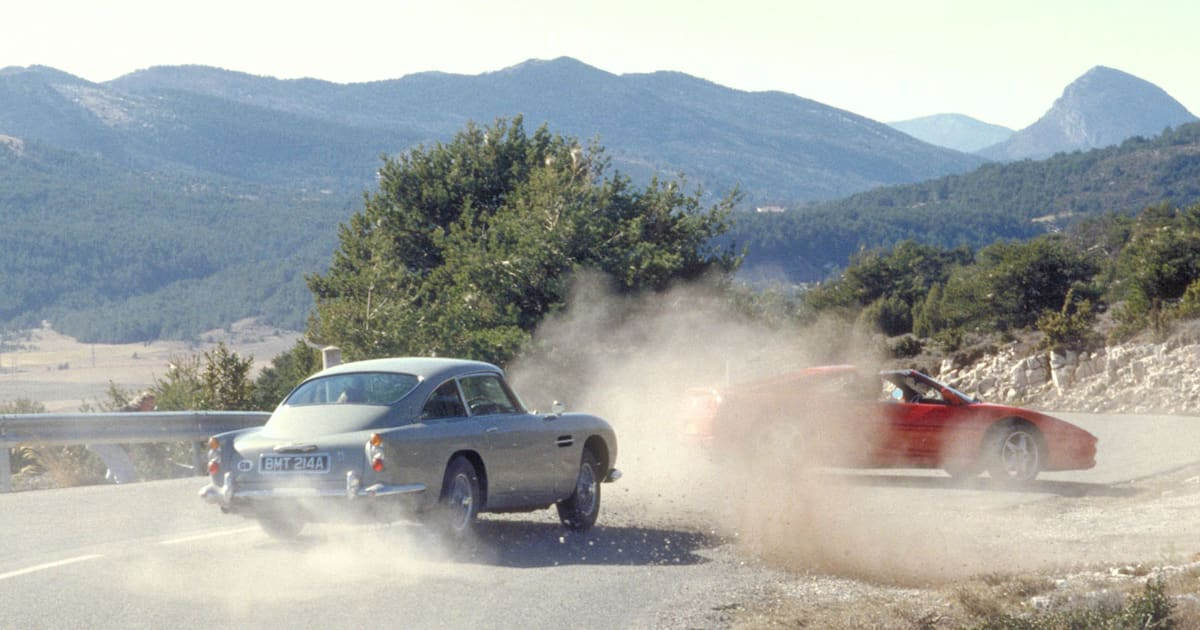 Aston Martin is Re-making James Bond's DB5, Spy Gadgets Included