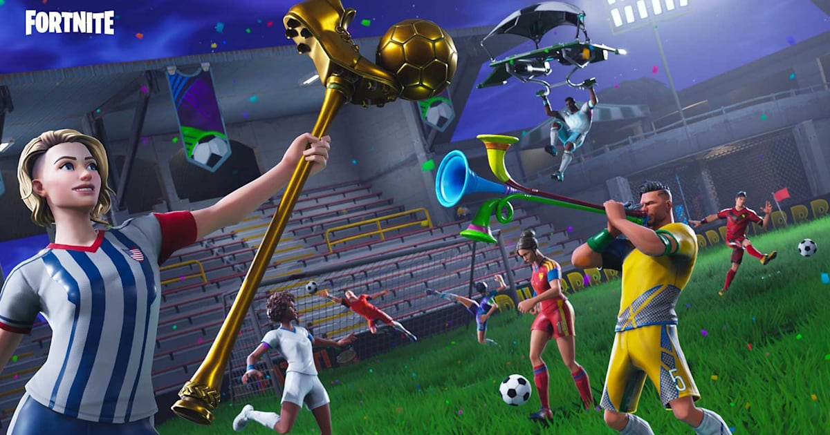 'Fortnite' Marks World Cup with Stadium and Goal Scoring Challenges