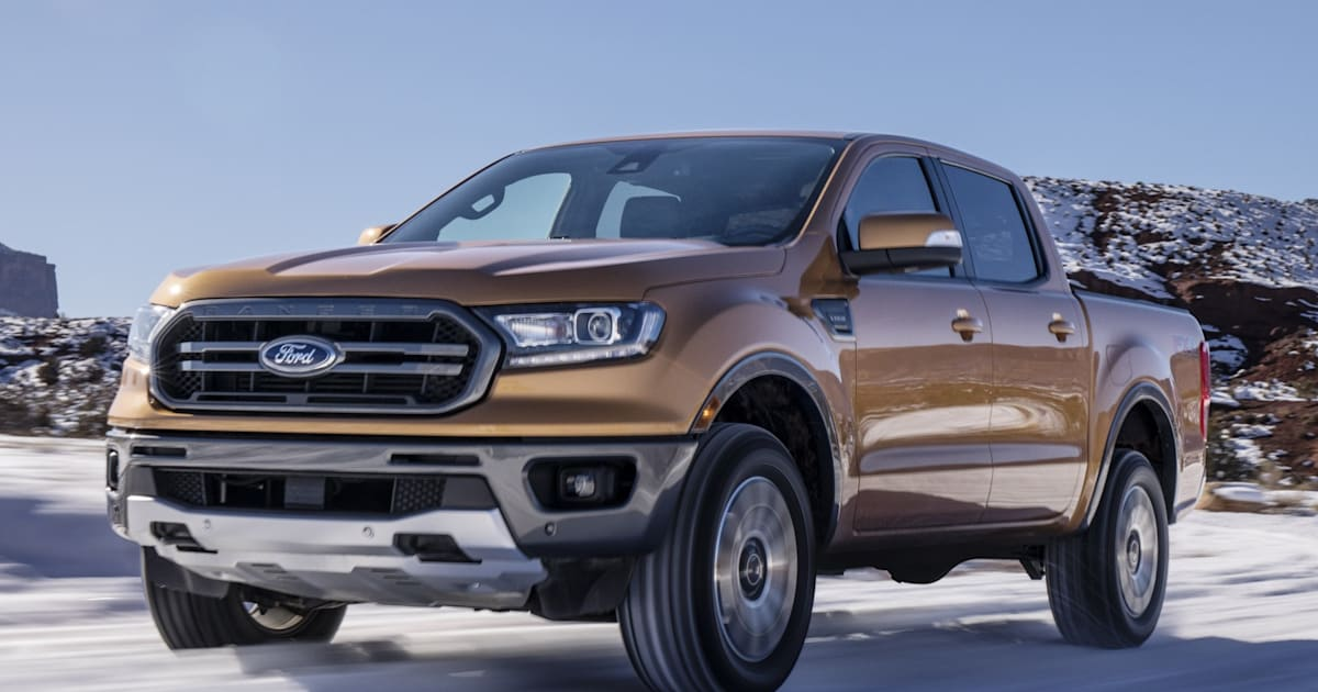 Ford's 2019 Ranger unveiled with automatic emergency brakes