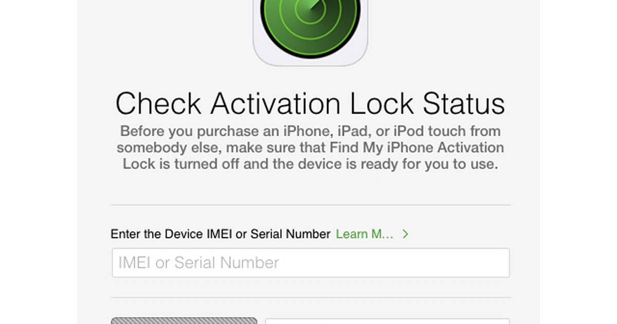 Apple launches tool to check Activation Lock status of an