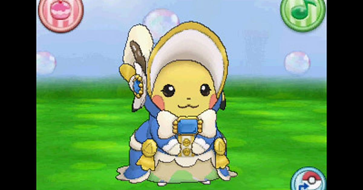 Pikachu As A Southern Belle In Pokemon Omega Ruby Alpha