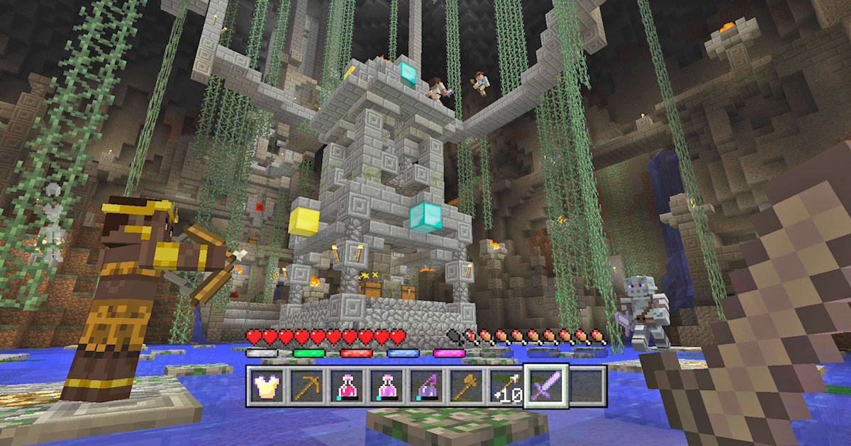 The Big 'Minecraft' Cross-platform Update is Live, but not on Switch