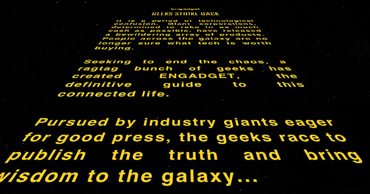 Create your own 'Star Wars' crawls, sonnets and Yoda speeches