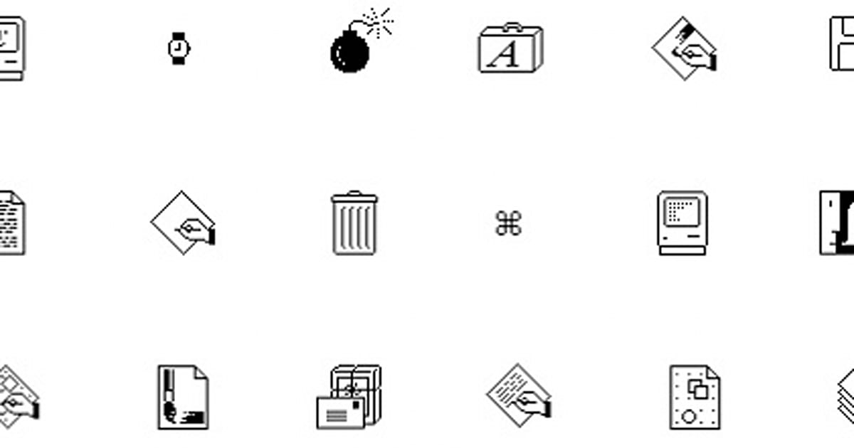 Susan Kare, the brains behind the Mac's famous icons and fonts