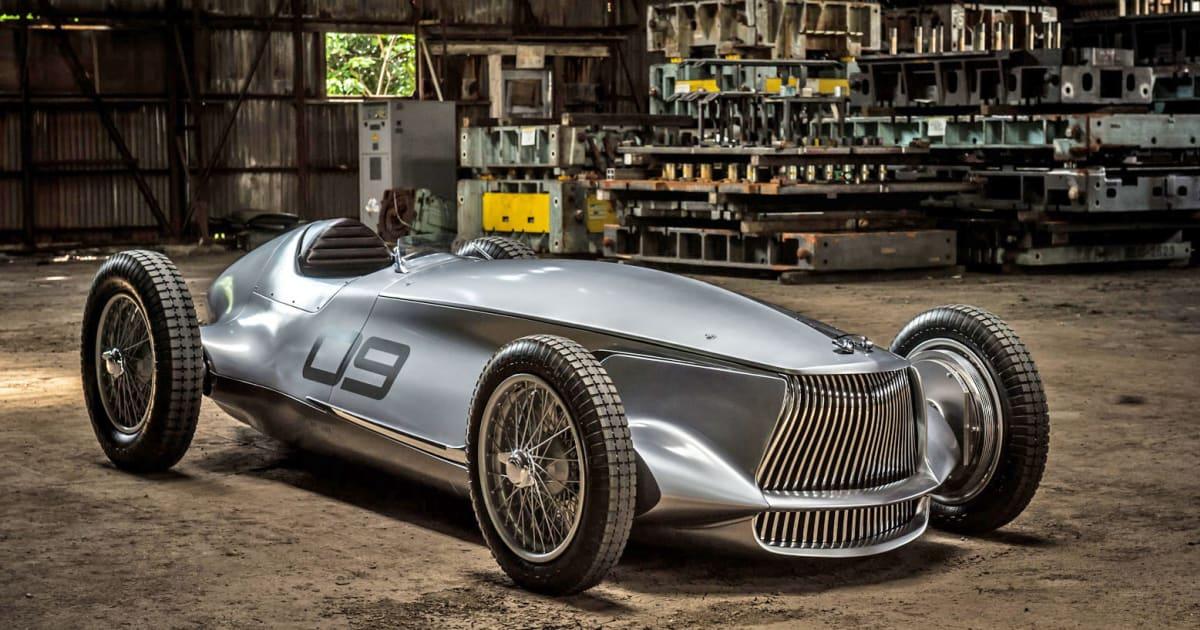 Infiniti Prototype Melds A Race Car With Ev Power