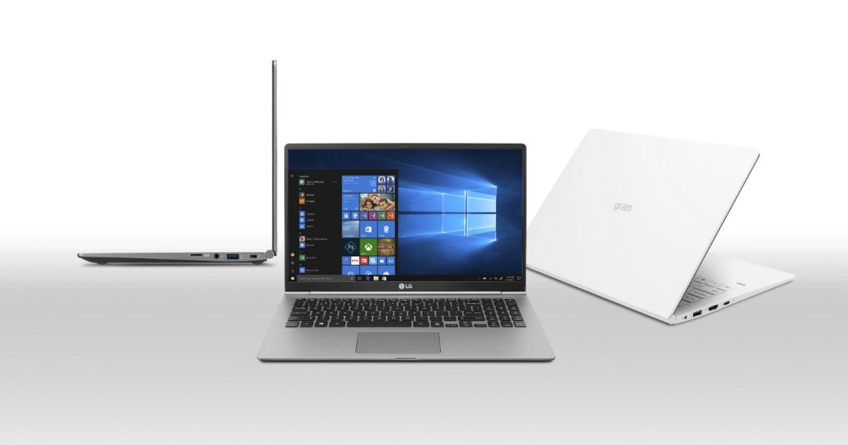 LG's refreshed Gram laptops get a quad-core processor bump