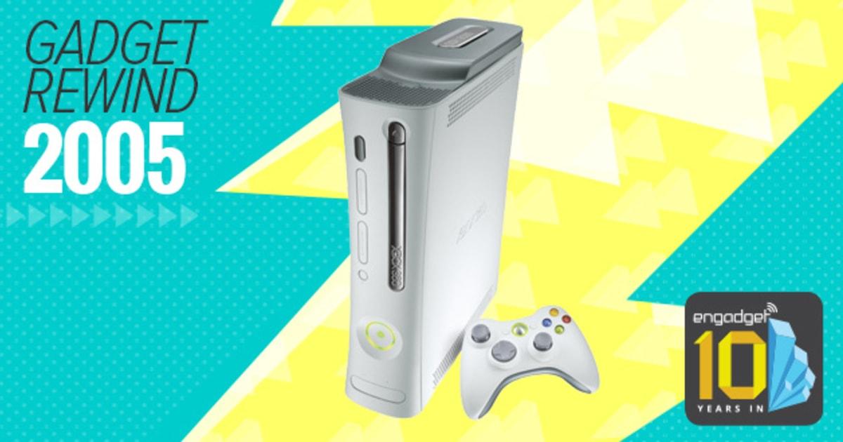 Gadget Rewind 2005 Xbox 360Xbox 2005