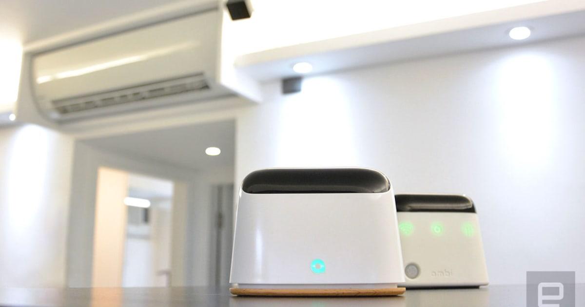 Alexa Can Control Your Dumb Ac Unit Using Ambi S Smart Hub