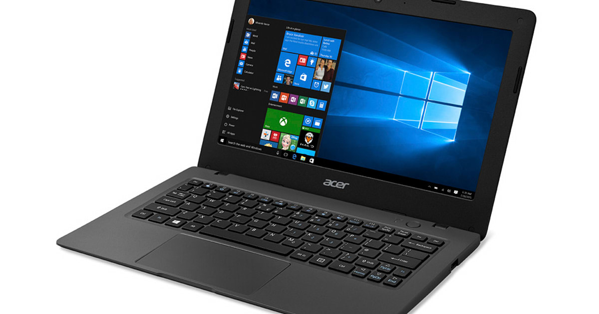 Acer Aspire One Cloudbook Gives You A Full Windows Laptop