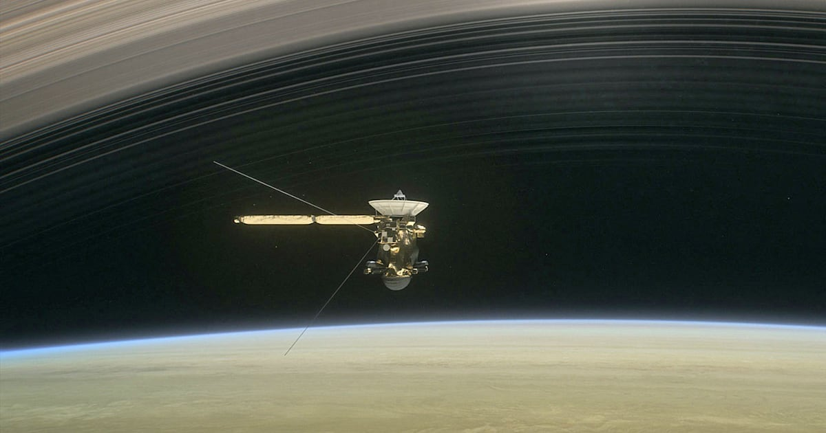 Cassini will take five victory laps before plunging into ...