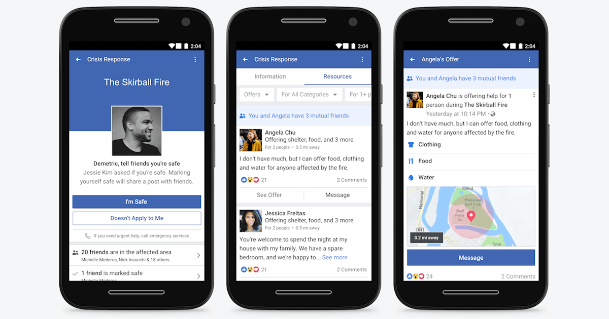 Facebook Lite Adds Community Help Crisis Response Tool