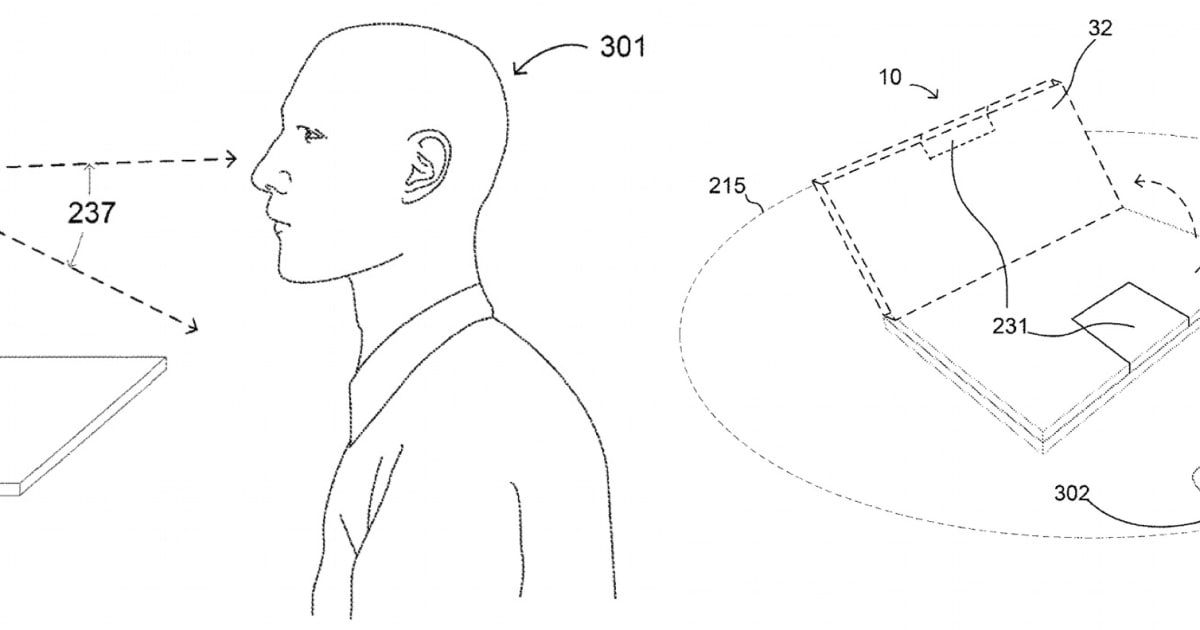 Google Patents a Motorized Chromebook Hinge that Can Open Itself