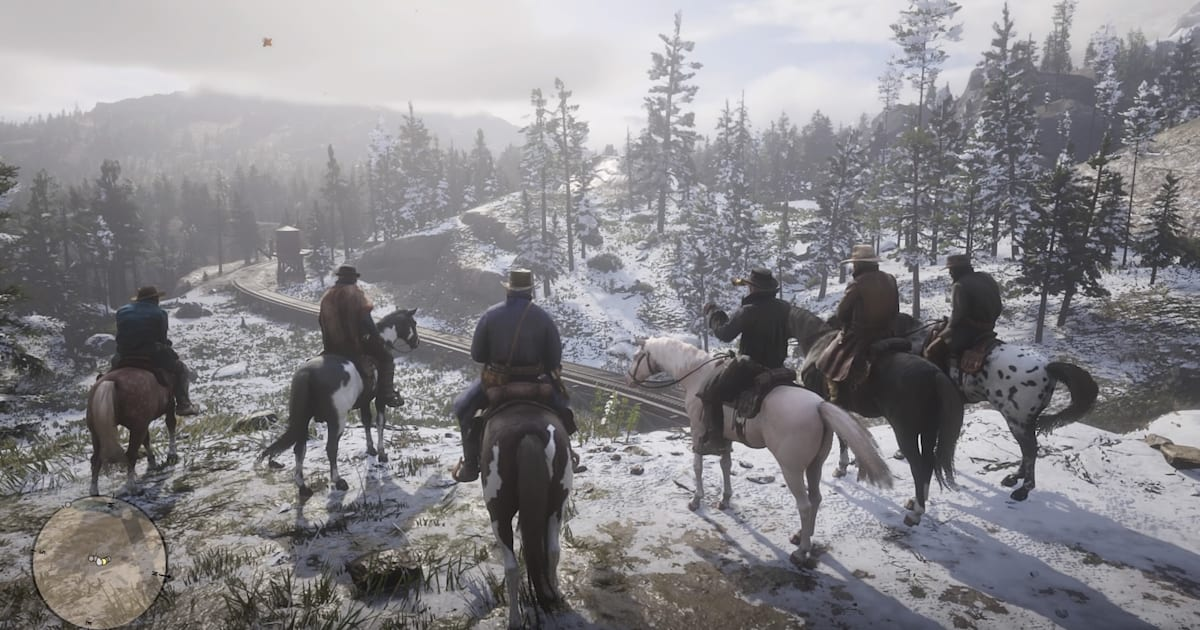 red dead redemption 2 separation of crunch and art