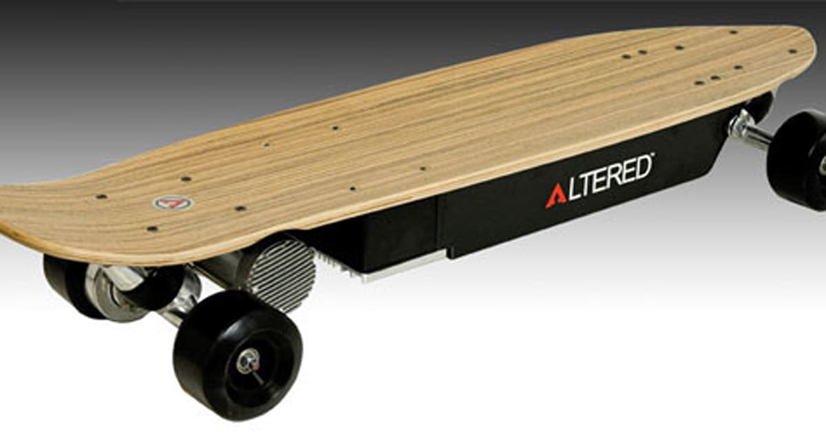 altered elektro skateboard f r bequemes cruisen. Black Bedroom Furniture Sets. Home Design Ideas