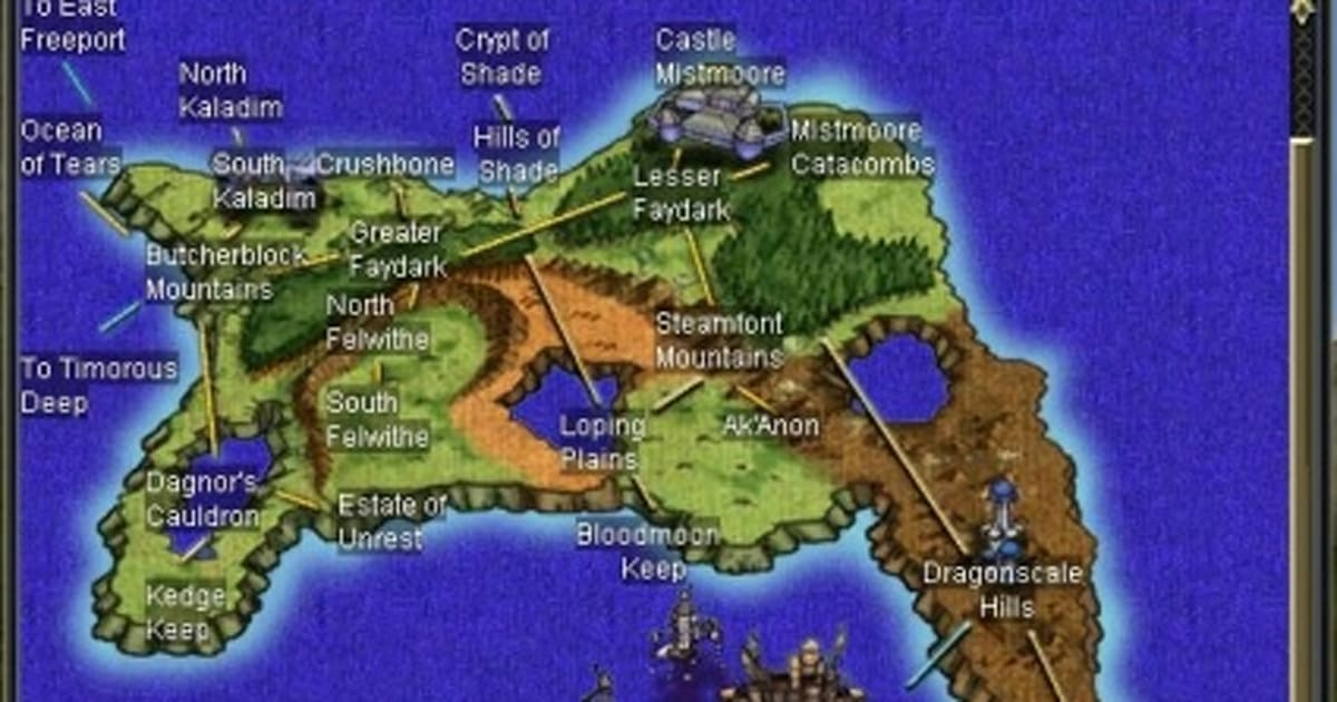 The Massively Everquest Secrets Of Faydwer Beta Tour Engadget