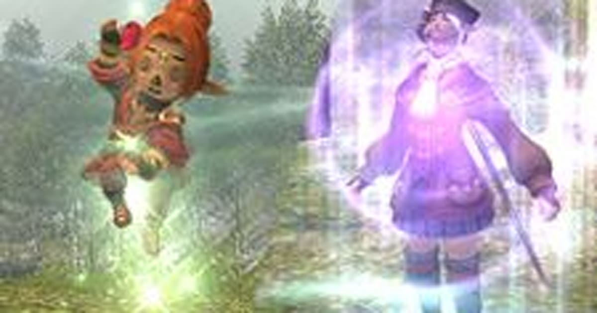 New magic and job abilities in today's Final Fantasy XI update