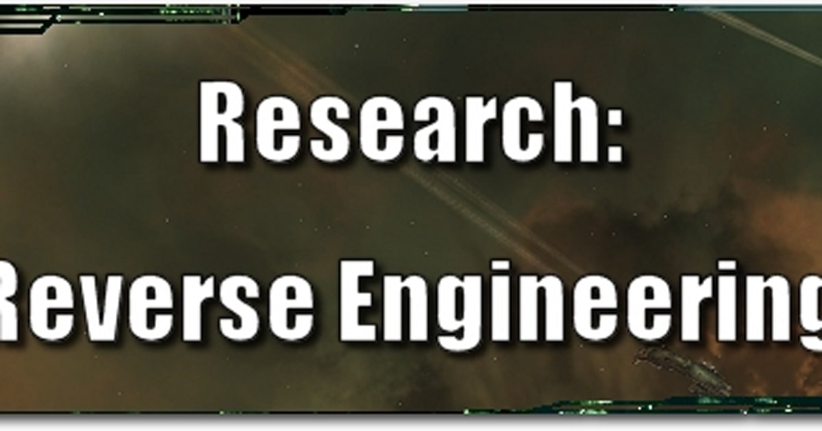 Eve evolved research reverse engineering and tech 3 malvernweather Choice Image