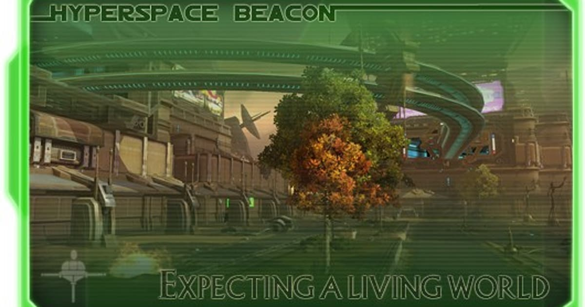 Hyperspace Beacon: Expecting a living world
