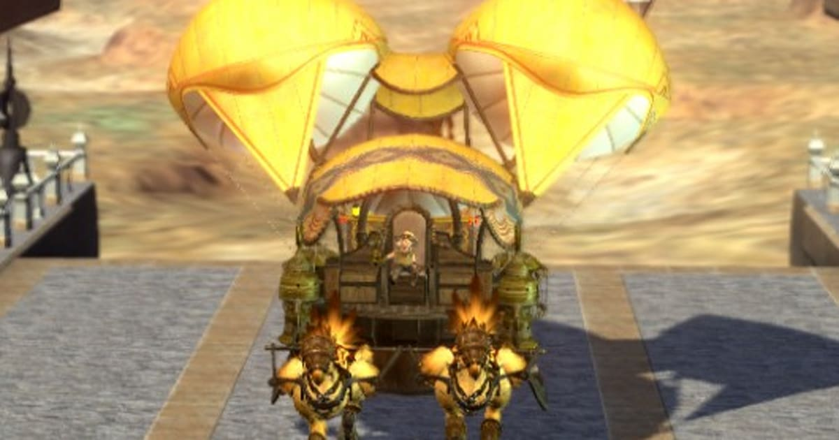 Caravan security missions marching to Final Fantasy XIV