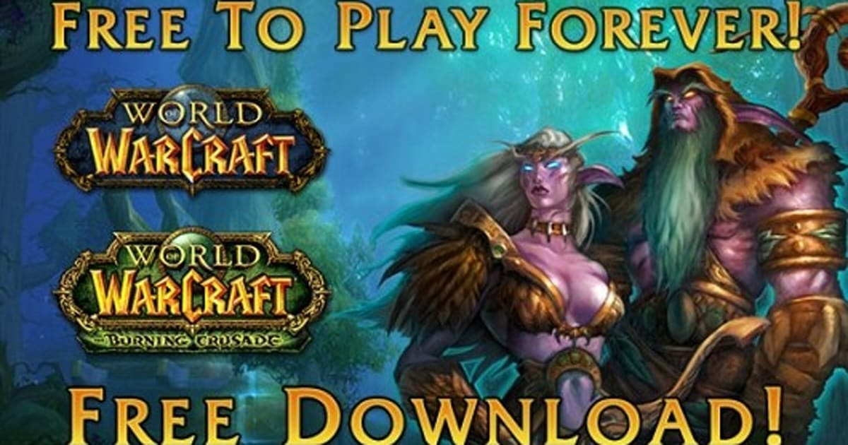 world of warcraft free download full game for pc