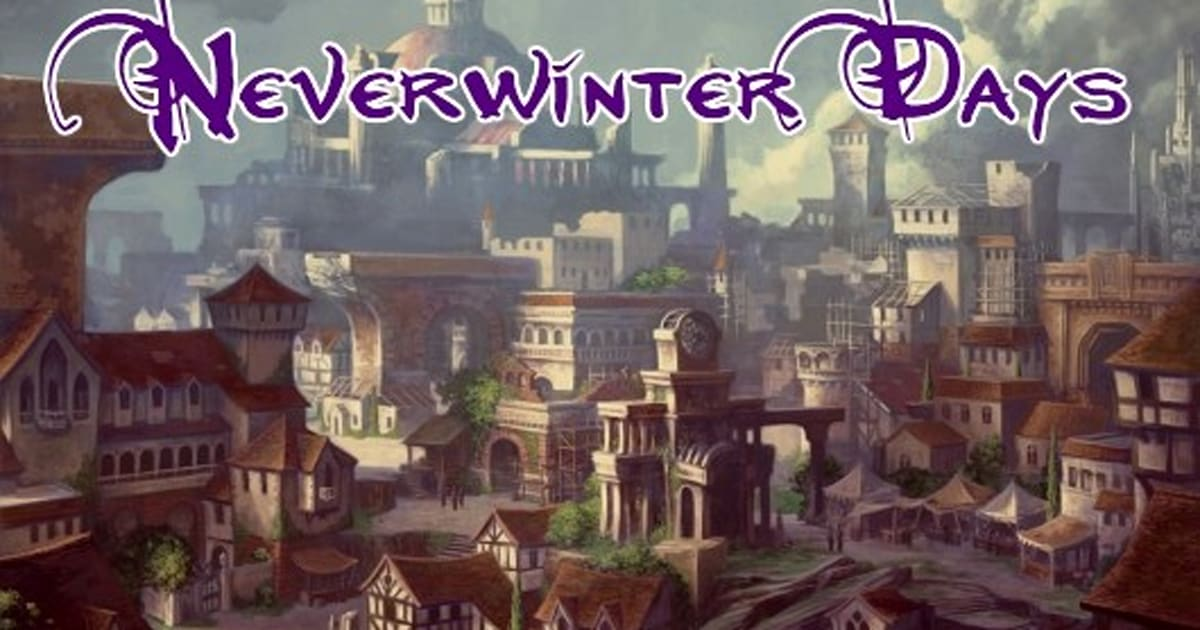 Ddo Best Solo Build 2020 Neverwinter Days: The DDO connection