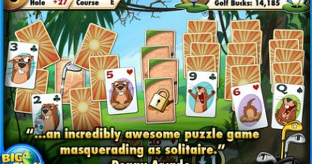 Big fish games scores a hit with fairway solitaire for Fairway solitaire big fish games