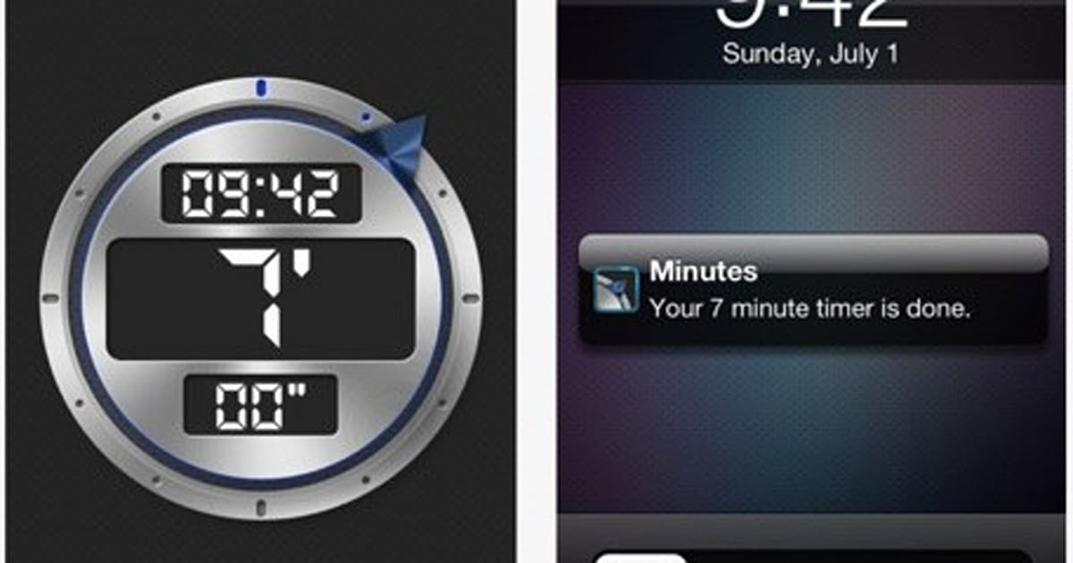 Daily iPhone App: Minutes is a simple timer for your tasks