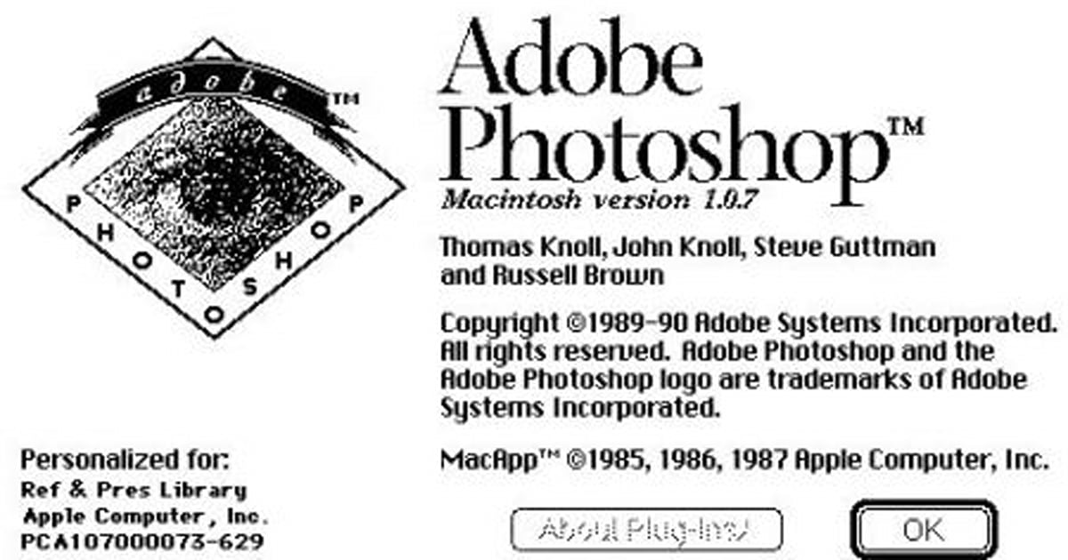 Photoshop 1.0 source code now available from the Computer