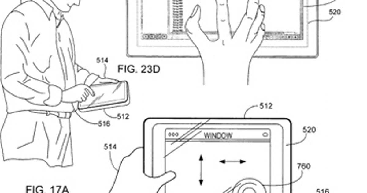 Apple's patented the Tablet Mac (part II)