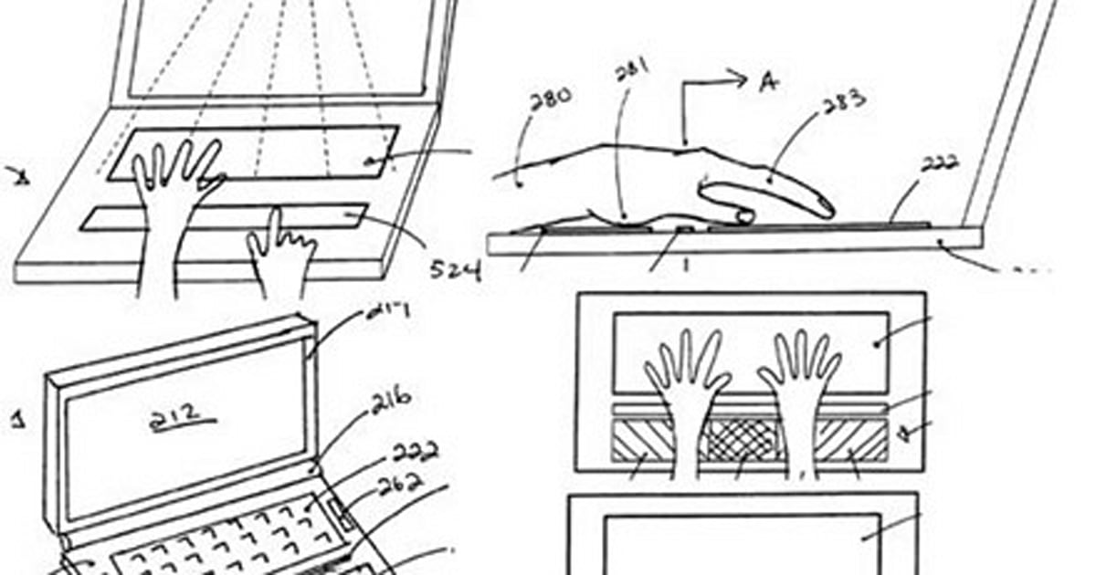 Revenge of Apple patent attack: giant laptop touchpad