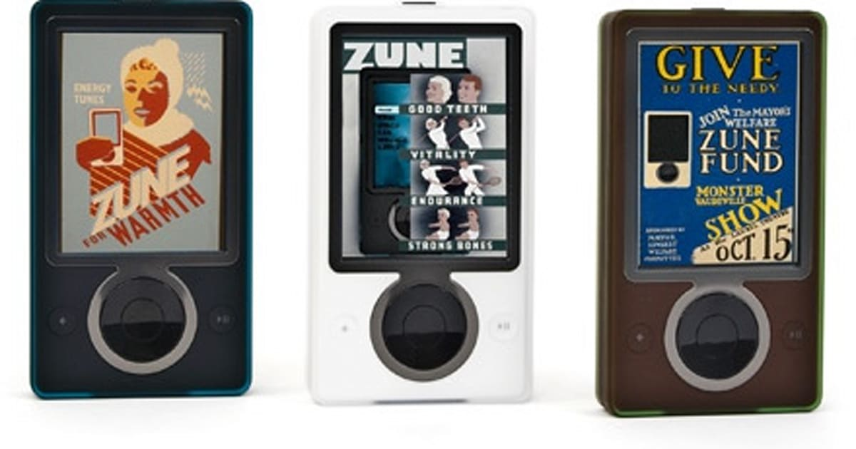Zune Hits New Low: $100 Cash Money