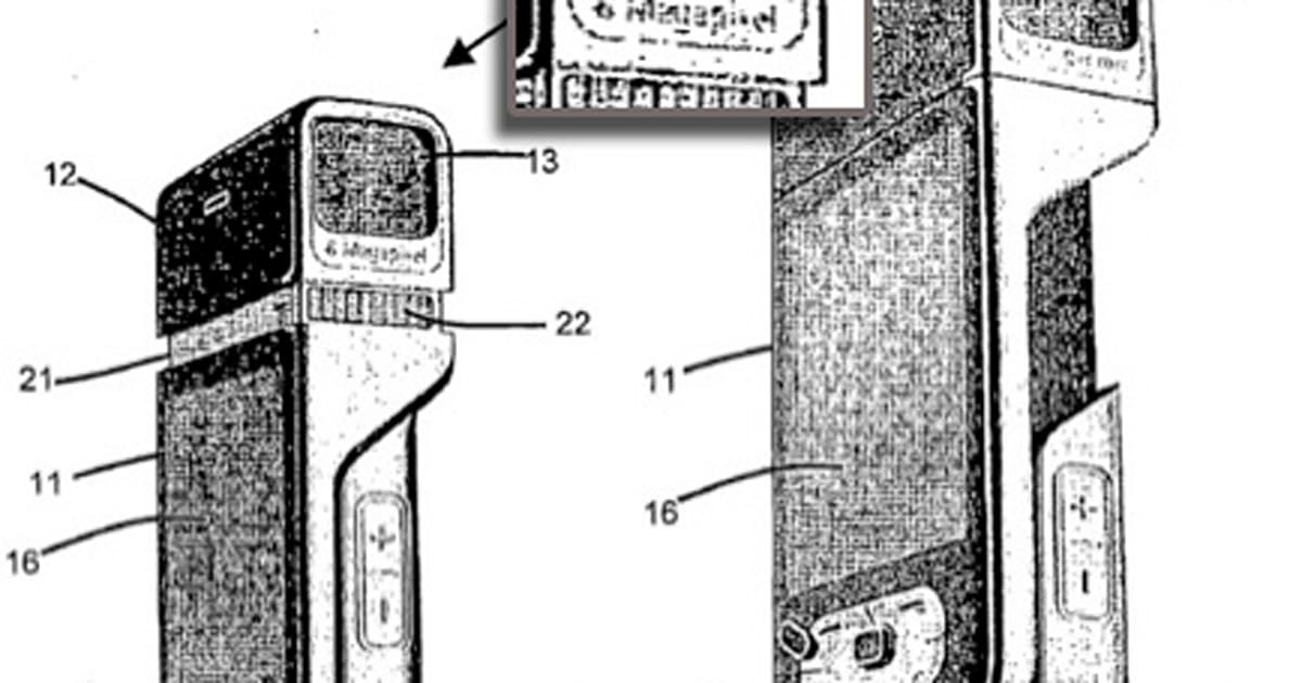Nokia's patent application shows 8 megapixel N-series