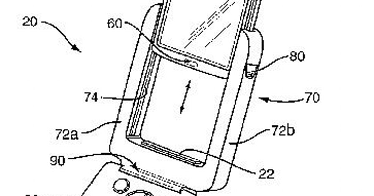 Sony Ericsson files patent for