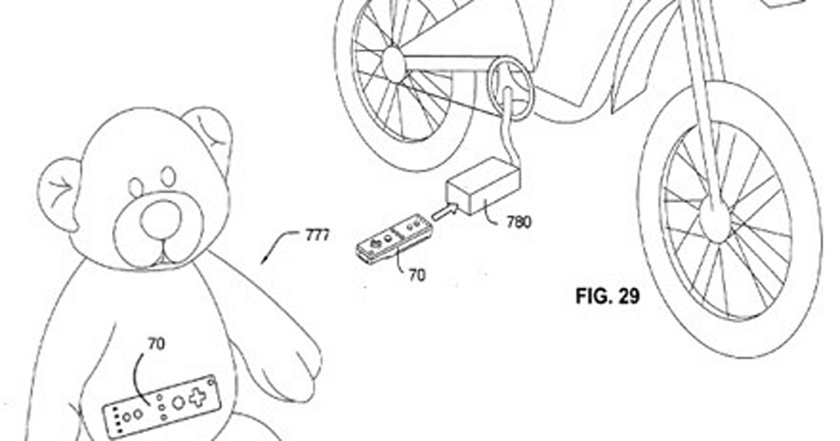 Nintendo files Wii accessory patent for everything