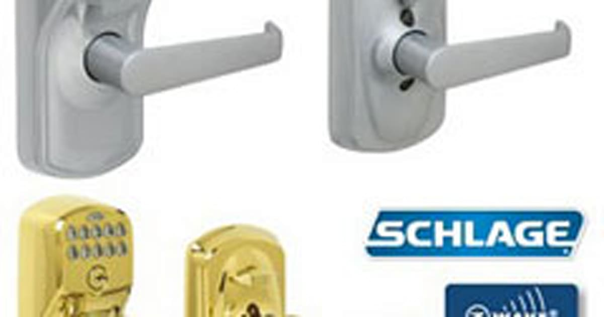 Schlage Link Web Controlled Z Wave Door Locks Priced Right