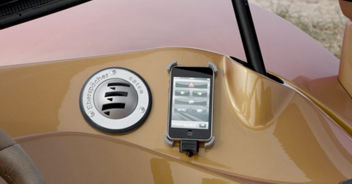 Rinspeeds Ichange Ev Is An Iphone Integrated Shape Shifter