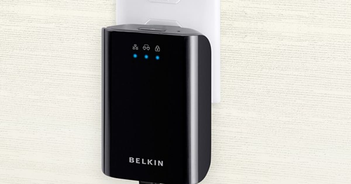 Belkin's Gigabit Powerline Adapter Ups The Ante For
