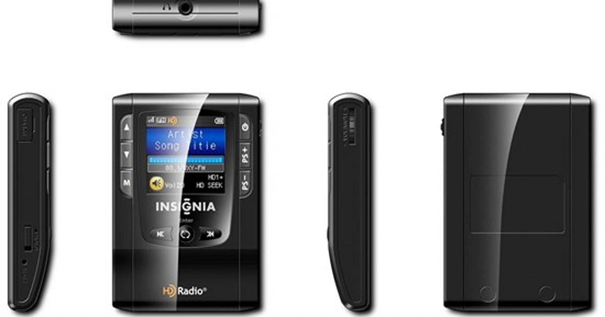 f59259790fb Insignia NS-HD01: first-ever portable HD Radio on sale at Best Buy