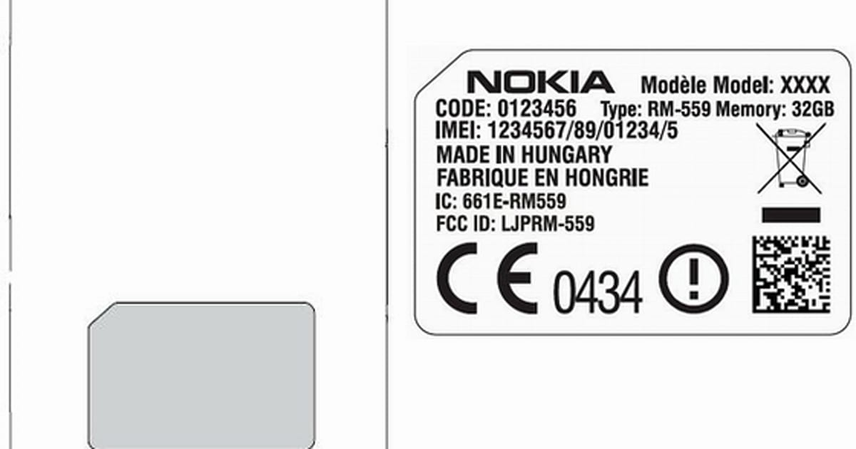 Nokia's 32GB Alvin RM-559 hits FCC, Simon 561 and Theodore