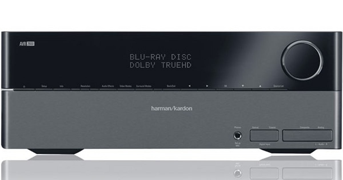 Harman Kardon resets its AV receiver line with AVR 1600