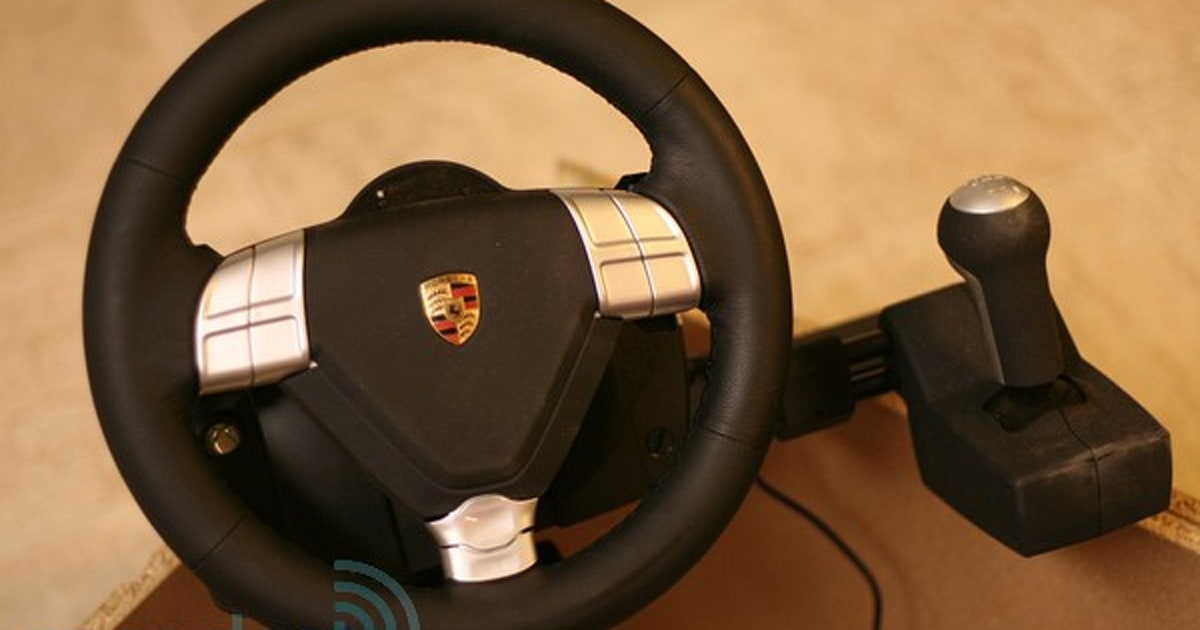 fanatec porsche 911 turbo wheel for xbox 360 review. Black Bedroom Furniture Sets. Home Design Ideas