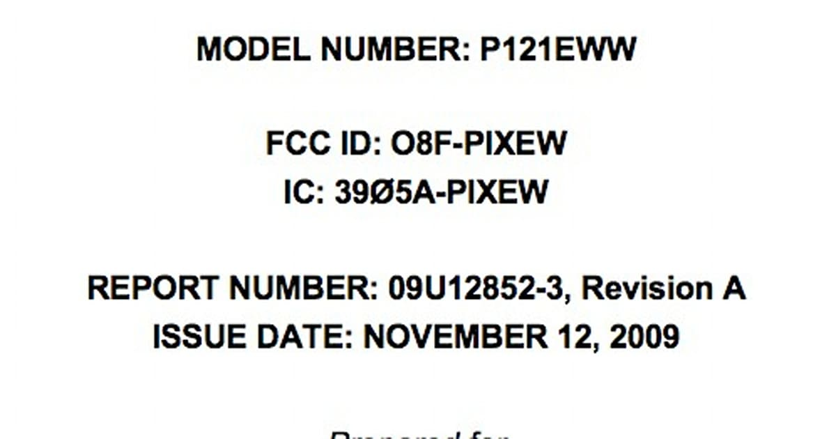 Palm Pixi clears FCC with Verizon frequencies and WiFi in tow