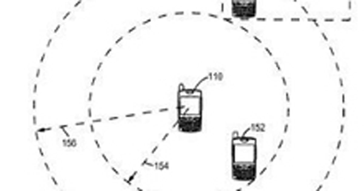 Palm files patent for GPS-based location sharing service