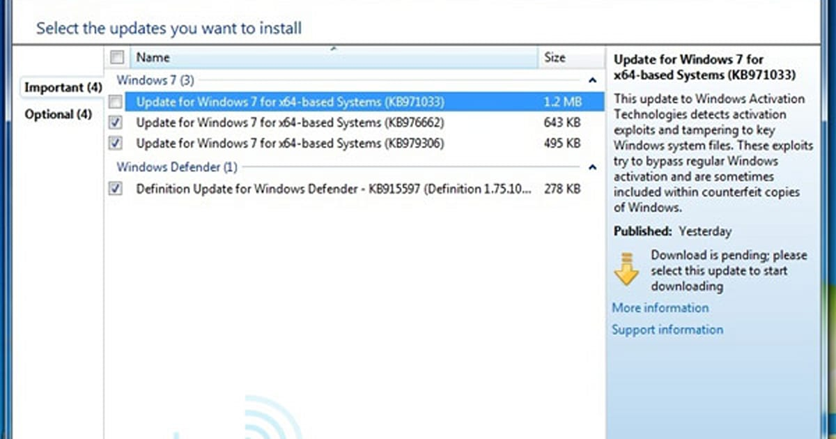 Windows 7 Activation Technologies Update now live, ready to