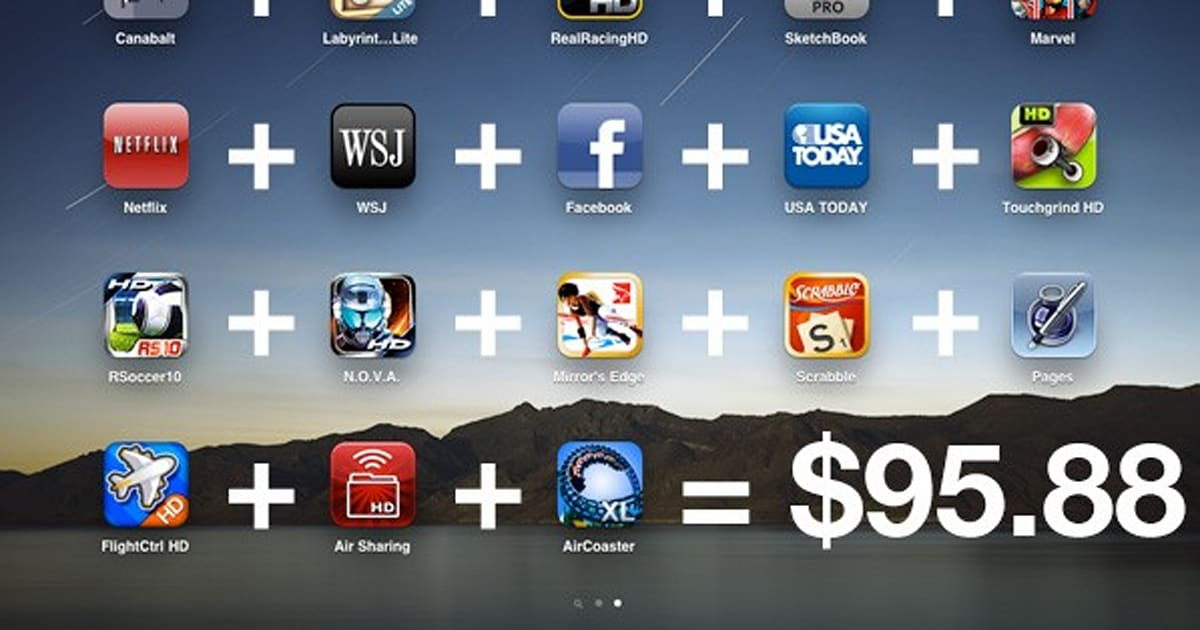 Editorial: IPad App Prices Are Out Of Control And Will