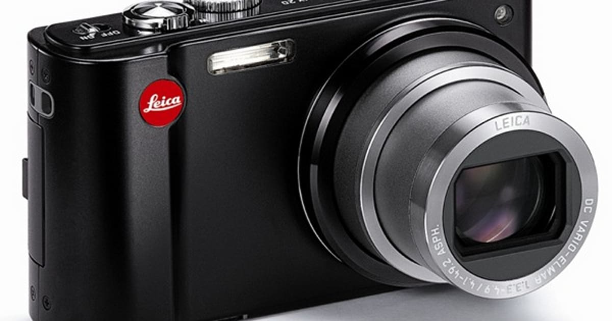 Leica V-Lux 20 Compact With 12x Superzoom Is Pure Brand