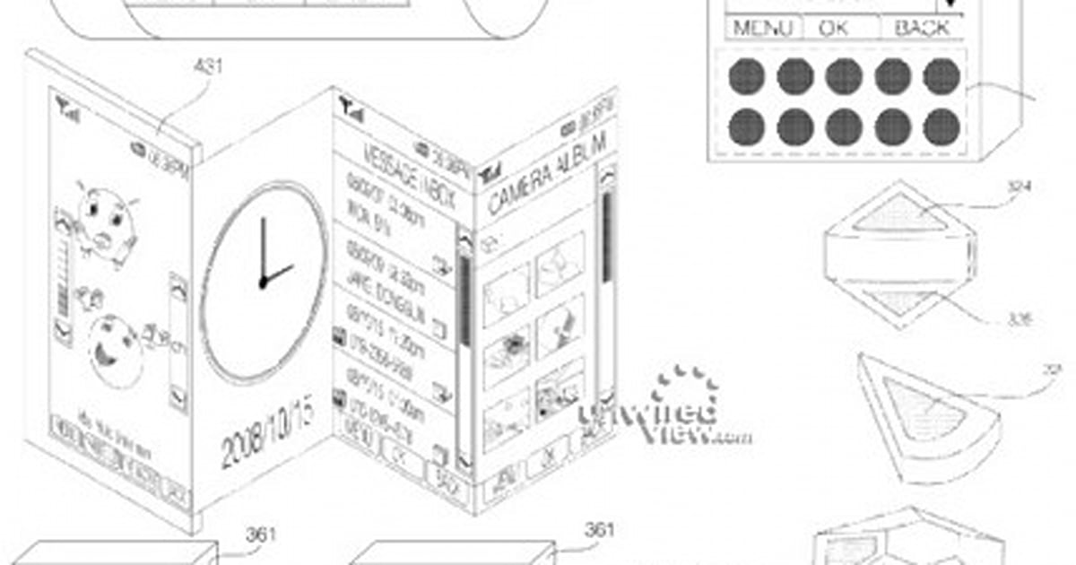 LG flexible display patent application includes fever