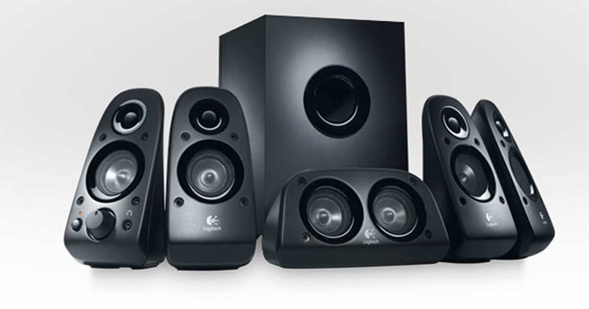 Logitech Does 5 1 Surround Sound On A Budget With 100