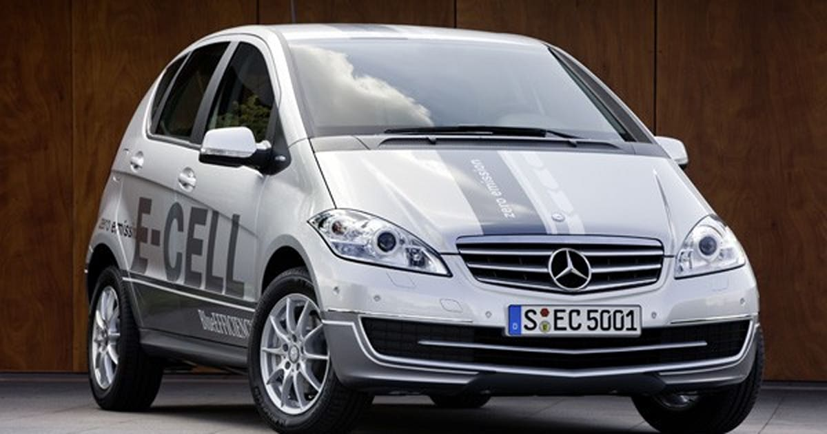 Mercedes-Benz A-Class E-Cell is an E-lectric limited